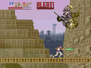 Screenshot Thumbnail / Media File 1 for Run Saber (USA)