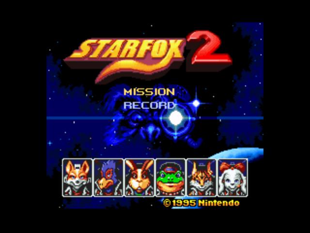 project Star Fox 2 aeon genesis Its a secret to