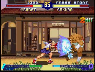 Screenshot Thumbnail / Media File 1 for Street Fighter Alpha 2 (USA)