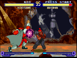 Screenshot Thumbnail / Media File 1 for Street Fighter Alpha 2 (USA)