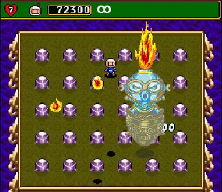 Screenshot Thumbnail / Media File 1 for Super Bomberman 4 (Japan)