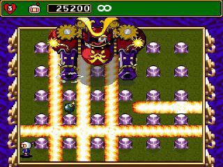 Screenshot Thumbnail / Media File 1 for Super Bomberman 4 (Japan)