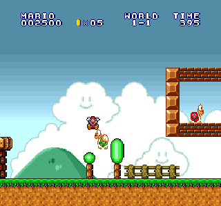 Screenshot Thumbnail / Media File 1 for Super Mario All-Stars (Europe)