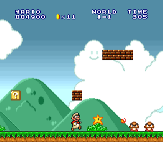 Screenshot Thumbnail / Media File 1 for Super Mario All-Stars (USA)