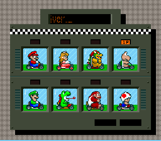 Screenshot Thumbnail / Media File 1 for Super Mario Kart (USA)