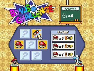 Screenshot Thumbnail / Media File 1 for Super Mario World 2 - Yoshi's Island (USA)