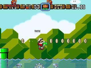 Screenshot Thumbnail / Media File 1 for Super Mario World (USA)