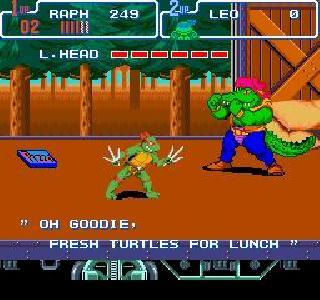 Screenshot Thumbnail / Media File 1 for Teenage Mutant Ninja Turtles IV - Turtles in Time (USA)