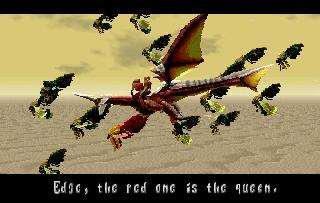 Screenshot Thumbnail / Media File 1 for Panzer Dragoon Saga Disc 1 of 4 (U)