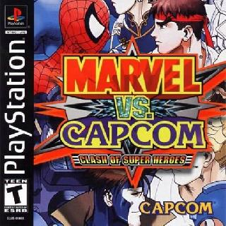 Screenshot Thumbnail / Media File 1 for Marvel vs. Capcom - Clash of the Super Heroes