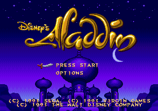 Screenshot Thumbnail / Media File 1 for Aladdin (USA)