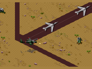 Screenshot Thumbnail / Media File 1 for Desert Strike (USA, Europe)