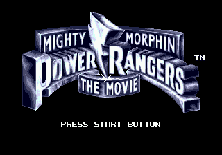 Screenshot Thumbnail / Media File 1 for Mighty Morphin Power Rangers - The Movie (USA)
