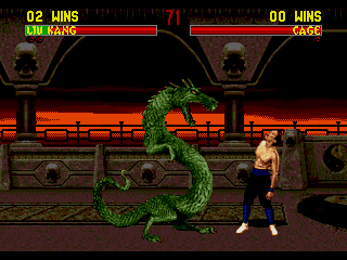 Screenshot Thumbnail / Media File 1 for Mortal Kombat II (World)