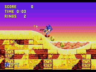 Screenshot Thumbnail / Media File 1 for Sonic & Knuckles (World)