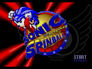 Screenshot Thumbnail / Media File 1 for Sonic Spinball (USA) (Beta)