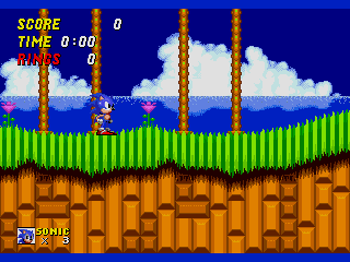 Screenshot Thumbnail / Media File 1 for Sonic the Hedgehog 2 (World) (Beta)