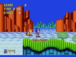 Screenshot Thumbnail / Media File 1 for Sonic the Hedgehog 2 (World) (Beta)