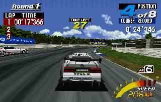 Screenshot Thumbnail / Media File 1 for Sega Touring Car Championship (U)