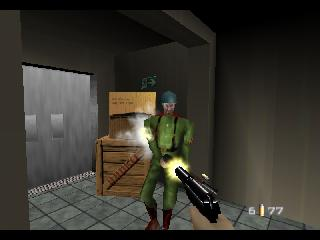 Screenshot Thumbnail / Media File 1 for 007 - GoldenEye (USA)
