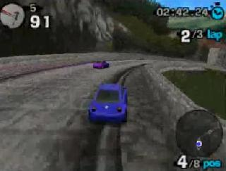 Screenshot Thumbnail / Media File 1 for Beetle Adventure Racing! (USA) (En,Fr,De)