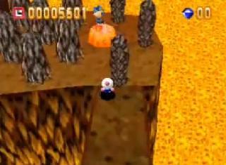 Screenshot Thumbnail / Media File 1 for Bomberman 64 (USA)