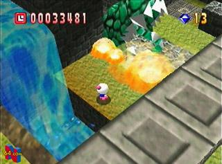 Screenshot Thumbnail / Media File 1 for Bomberman 64 (USA)