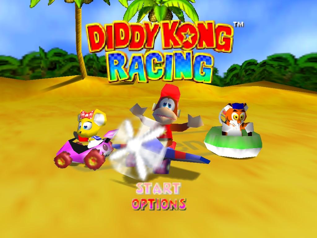 Diddy Kong Racing Characters Diddy Kong Racing 2 Rumors