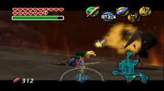 Screenshot Thumbnail / Media File 1 for Legend of Zelda, The - Majora's Mask (USA)