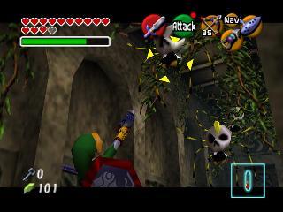 Screenshot Thumbnail / Media File 1 for Legend of Zelda, The - Ocarina of Time - Master Quest (USA) (Debug Edition)