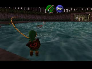 Screenshot Thumbnail / Media File 1 for Legend of Zelda, The - Ocarina of Time (USA)