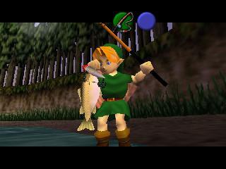 Screenshot Thumbnail / Media File 1 for Legend of Zelda, The - Ocarina of Time (USA)