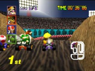 Screenshot Thumbnail / Media File 1 for Mario Kart 64 (Europe)