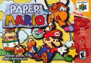 Screenshot Thumbnail / Media File 1 for Paper Mario (Europe) (En,Fr,De,Es)
