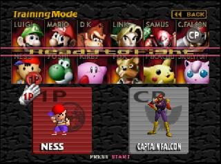 Screenshot Thumbnail / Media File 1 for Super Smash Bros. (USA)