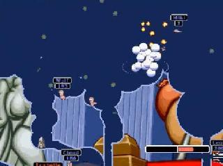 Screenshot Thumbnail / Media File 1 for Worms Armageddon (USA) (En,Fr,Es)