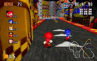 Screenshot Thumbnail / Media File 1 for Sonic R (U)