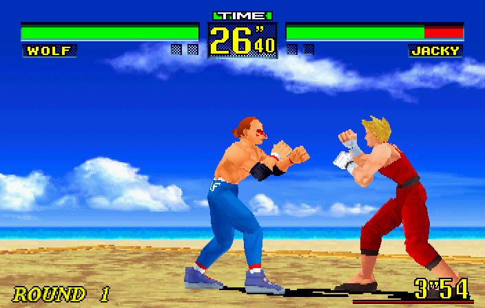 Virtua Fighter Remix (U) ISO