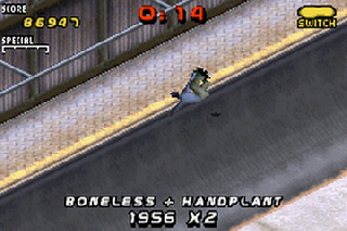 Screenshot Thumbnail / Media File 1 for Tony Hawk's Pro Skater 2 (U)(Total Crap)
