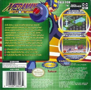Screenshot Thumbnail / Media File 1 for MegaMan Battle Network (U)(Venom)