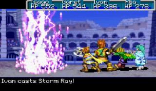 Screenshot Thumbnail / Media File 1 for Golden Sun (U)(Mode7)