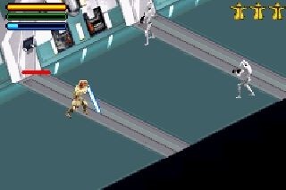 Screenshot Thumbnail / Media File 1 for Star Wars - Jedi Power Battles (U)(Eurasia)