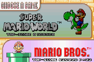 Screenshot Thumbnail / Media File 3 for Super Mario World - Super Mario Advance 2 (E)(Cezar)