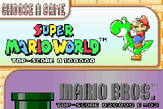 Screenshot Thumbnail / Media File 1 for Super Mario World - Super Mario Advance 2 (E)(Cezar)