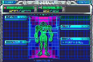 Screenshot Thumbnail / Media File 1 for Metroid - Fusion (U)(GBANow)