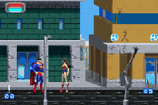 Screenshot Thumbnail / Media File 1 for Justice League - Injustice for All (U)(Eurasia)