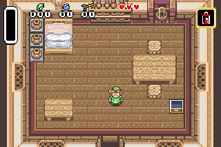 Screenshot Thumbnail / Media File 1 for The Legend Of Zelda - A Link To The Past (U)(Mode7)
