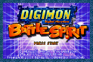 Screenshot Thumbnail / Media File 1 for Digimon Battle Spirit (U)(Noitami)