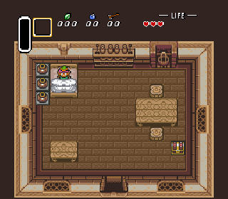 Screenshot Thumbnail / Media File 1 for The Legend Of Zelda - A Link To The Past (E)(Cezar)