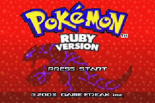 Screenshot Thumbnail / Media File 1 for Pokemon Ruby (U)(Mugs)